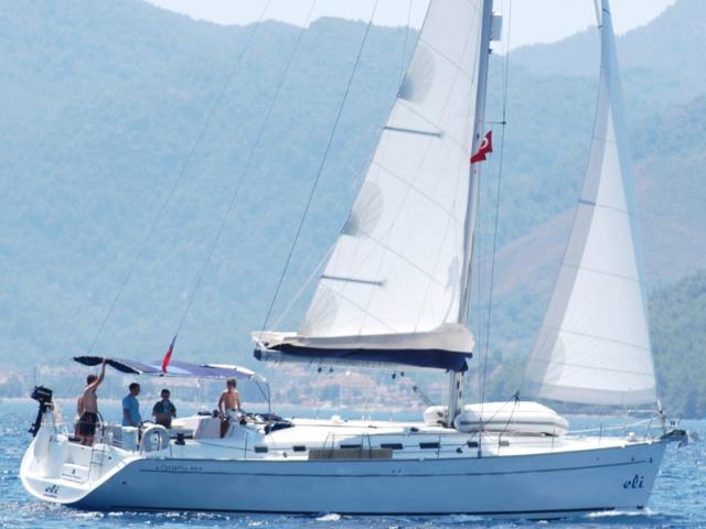 barca vela Eolie