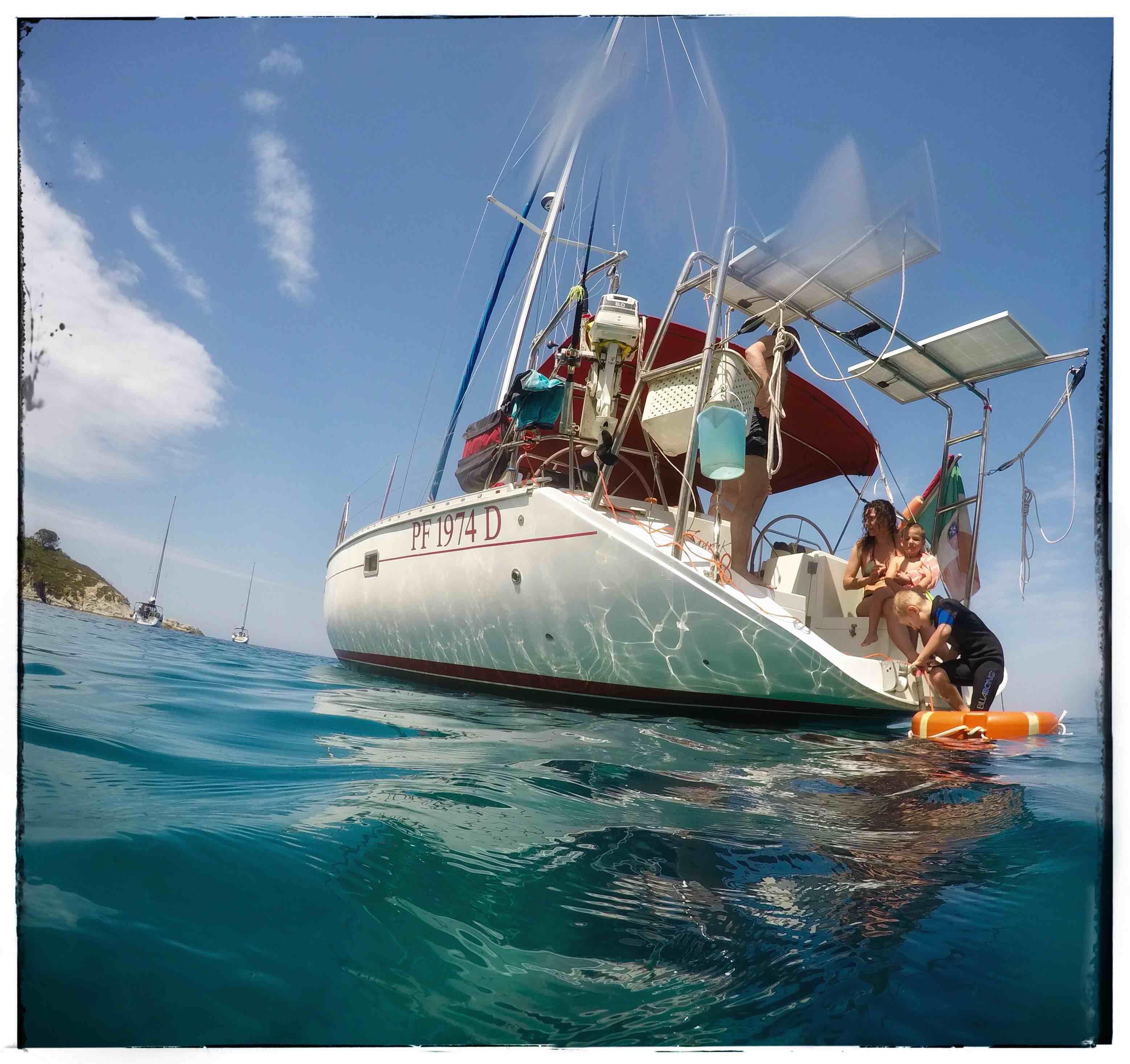 barca vela corsica