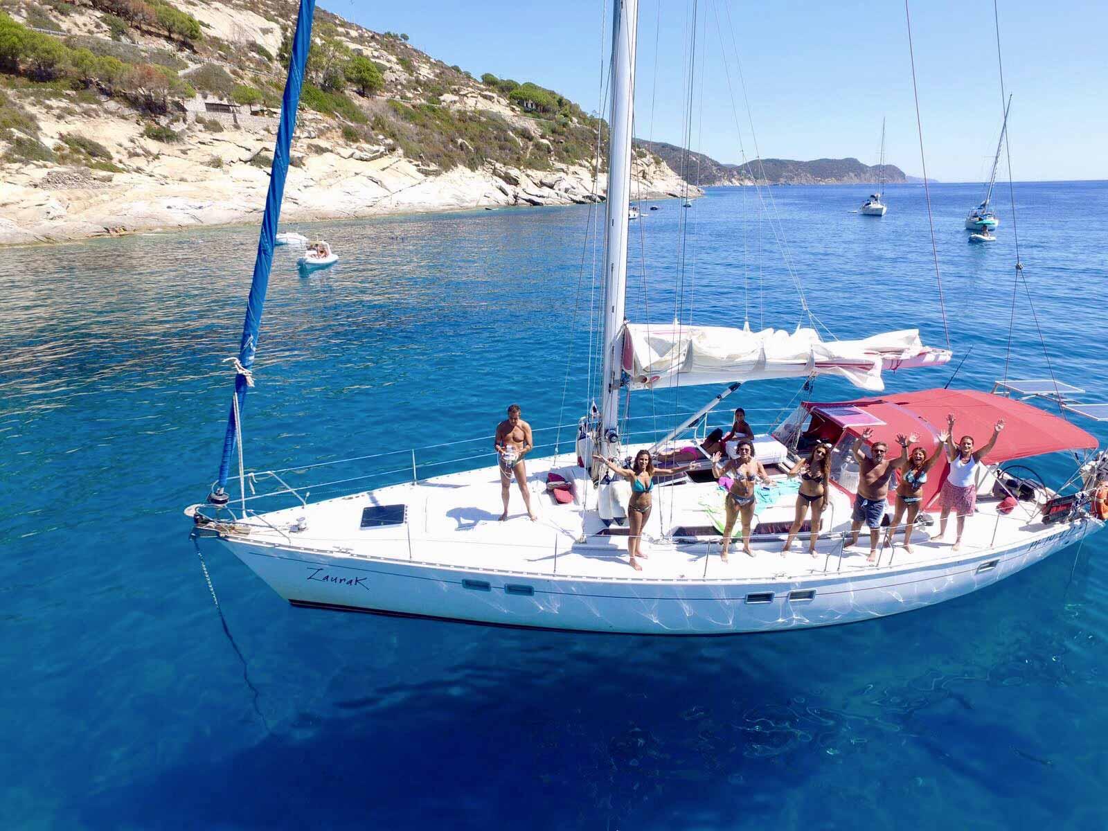crociera in barca vela