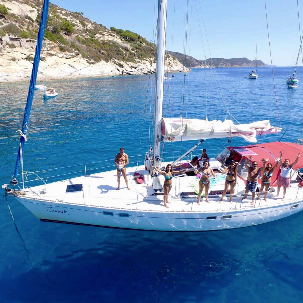 Crociere in barca a vela cabine barca Sun Odyssey 51 - f